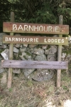 Barnhourie Sign Post