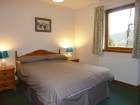 Criffel Lodge double bedroom